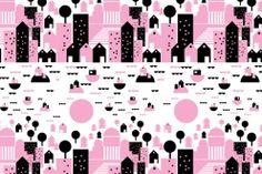 Bombotti, pattern / Helsingin kesä - Summer in Helsinki / design Sanna Pelliccioni Helsinki, Kitchen Accessories, New Homes, Palette, Illustration, Summer, Pattern, Inspiration, Color