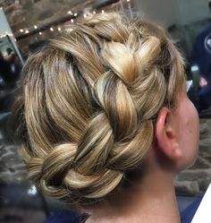 awesome 30 Topnotch and Easy Crown Braid Hairstyles You Should Try Out