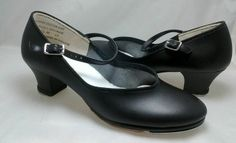 Theatricals Black Mary Jane Child Buckle #TapDance #Dancer #Shoes Girls size 5.5 M $11.99