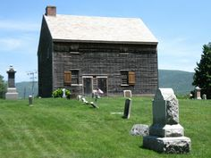 The Meeting House, Adams MA, was active from 1782 to 1842 built by Quakers from Smithfield  Ri & Dartmouth MA. Among its members was Susan B. Anthony, who was born in the area and who worshipped there as a child.