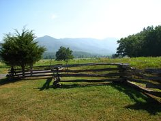 We never want to leave Cades Cove in the Smoky Mountains National Park. The views are unbelievable!