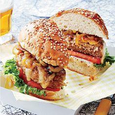 New England Turkey Burger | MyRecipes.com