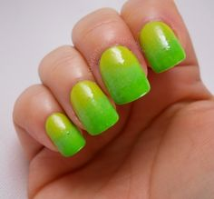 A Day In The Life Of Dollface: Spring Green Gradient