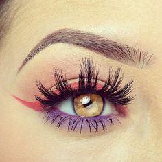 Color Effect                                               #eyes #eyemakeup