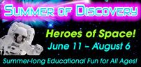 Summer of Discovery Heroes of Space