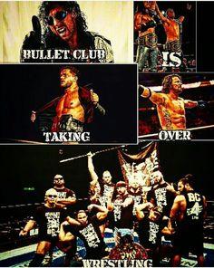 The Bullet club se hace cargo de la lucha libre