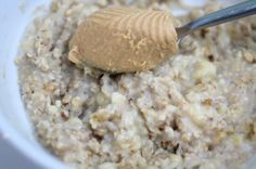 Peanut Butter & Banana Porridge
