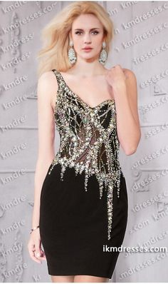 http://www.ikmdresses.com/Radiant-one-shoulder-short-sheer-beaded-fitted-dress-p60791