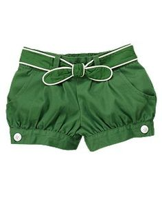banded cuff shorts from gymboree. i may have a baby just so she can wear these fancy shorts. Short Niña, Short Girls, Toddler Outfits, Kids Outfits, Cute Outfits, Little Girl Fashion, Kids Fashion, Bebe Love, Moda Chic