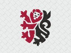 Lion logo by Veronika Žuvić
