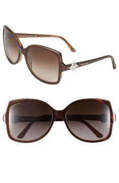 c3a34da7435 BVLGARI Angled Frame Sunglasses