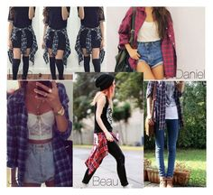 """""""How you style your Flannel"""" by onedirection-5sos-preferences122 ❤ liked on Polyvore"""