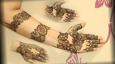 Beautiful Arabic Mehndi https://www.livinghours.com/arabic-mehndi-designs/