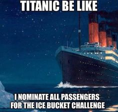 The Titanic was a trendsetter for ALS awareness