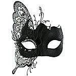 La máscara Fox Fairy Style Negro metal de Halloween Masquerade cola-Nine 2016 - $15.99