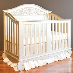 Buy Bratt Decor chelsea lifetime crib antique silver - Topvintagestyle.com ✓ FREE DELIVERY possible on eligible purchases