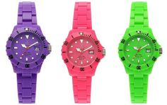 Toy Watch. #watch fashionista