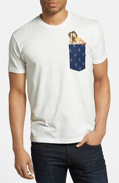 Kid Dangerous 'Anchor Pocket' T-Shirt available at #Nordstrom
