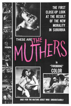 The Muthers vintage film poster