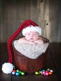 Christmas Baby Hat Holiday hats Photo Prop Stocking by dianirasoto, $40.00