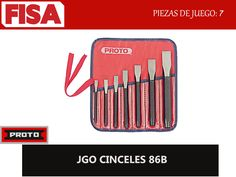 JGO CINCELES 86B. Piezas en juego 7- FERRETERIA INDUSTRIAL -FISA S.A.S Carrera 25 # 17 - 64 Teléfono: 201 05 55 www.fisa.com.co/ Twitter:@FISA_Colombia Facebook: Ferreteria Industrial FISA Colombia