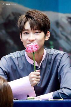 "yourdailywonwoo: """"© SAINT "" """