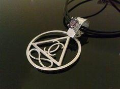 LEMURIAN SILVER AMETHYST Symbol Silver Amethyst by StyleCenter, $120.00