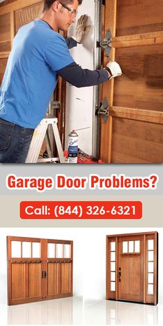 If your garage door is opening slowly or making a lot of noise, the problem may be in your rollers and brackets. Find a skilled person to make repair! www.seattlegaragedoorspecialists.com