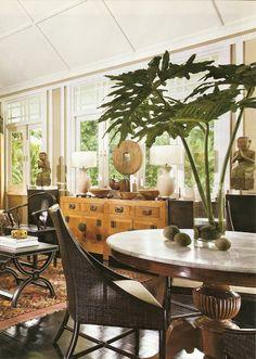 Asian Interior, Interior Exterior, Antique Interior, Singapore House, British Colonial Decor, Interior Design Singapore, White Houses, Feng Shui, House Design