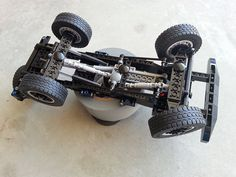 Lego MOC: Icon Bronco WIP 008 | Shot of the chassis bottom. … | Flickr