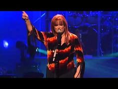 """Wynonna - That Was Yesterday - Wynonna sings a song about a woman who leaves her abuser called """"That Was Yesterday"""".  Naomi Judd, Wynonna's mama, wrote the song, and the lyrics are powerful and empowering."""