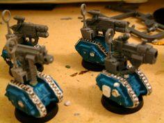 Servitors Squats Robots
