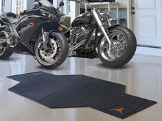 "Texas Motorcycle Mat 82.5"" L x 42"" W"