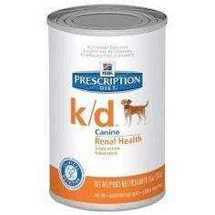 Hill39s Prescription Diet kd Canine Renal Health with Chicken 38 Vegetable Stew Canned Dog Food -- Check out this great product.