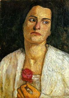 Modersohn-Becker, Paula : portrait de Clara Rilke-We...