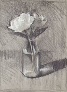 Discover just how easy it is to draw realistic flowers and create three-dimensional art! #drawing #drawingflowers