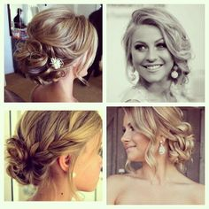 Gorgeous Messy Upstyles!