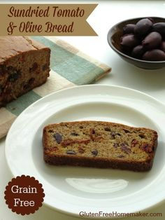 Sundried Tomato and Olive Bread (Grain Free)