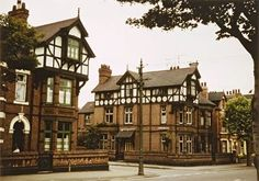Watson Fothergill designed houses on Lenton Boulevard Hm The Queen, Her Majesty The Queen, Horse Mounting Block, All Souls Church, History Photos, England Uk, Nottingham, Victorian Homes, Old Pictures