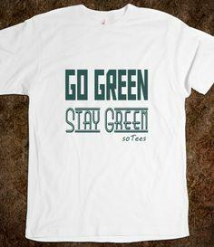 Go Green Health Awareness Tee #skreened #health #green #awareness