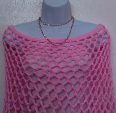Handmade crochet caplet Lacy Cape by TshielaAfricancrafts on Etsy
