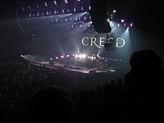 Creed broke up due to a controversial concert, December 29, 2002 in Rosemont, Illinois.