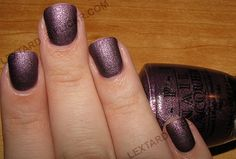 OPI Lincoln Park After Dark Suede-my wedding day nail color!