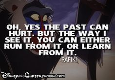Wisdom from the monkey :)