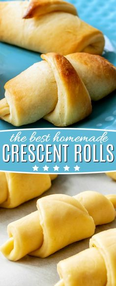 These Homemade Crescent Rolls are so buttery, flaky and totally delicious! These Crescent Rolls are so buttery, flaky and totally delicious! A perfect addition to any occasion and sure to become a new favorite! Homemade Crescent Rolls, Crescent Roll Recipes, Homemade Rolls, Cresent Rolls, Crescent Roll Dough, Roll Dough Recipe, Baking Dough Recipe, Dinner Rolls Recipe, Recipe For Mom