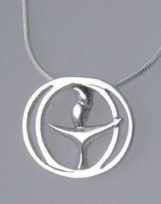 Unitarian universalist jewelry by chalice art my style 45 sterling silver chalice pendant aloadofball Gallery
