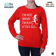 Christmas Sweater Funny new winter fashion women's sweatshirt multiple colour glitter available kids sizes available Unisex sizes by on Etsy Funny New, Christmas Sweaters, Winter Fashion, Graphic Sweatshirt, Unisex, Sweatshirts, My Style, Womens Fashion, Glitter