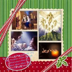 scrapbooking christmas pages - - Yahoo Image Search Results