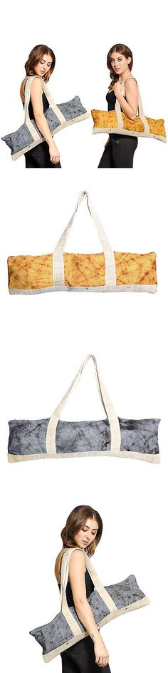 Mat Carriers and Bags 158929: Handmade Hemp Cotton Mix Yoga Mat Bag (Nepal) -> BUY IT NOW ONLY: $35.94 on eBay!