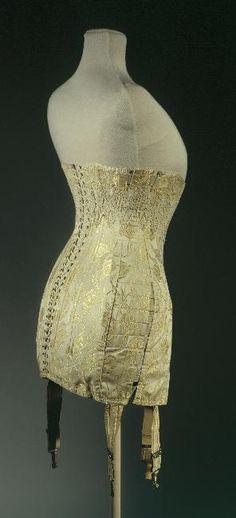 Galeries Lafayette  1908 Le Furet corset (st) 1908